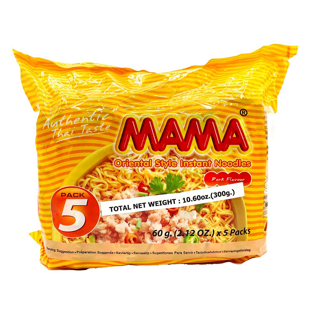 MAMA Oriental Pork Flavor Instant Noodles 5 Packs