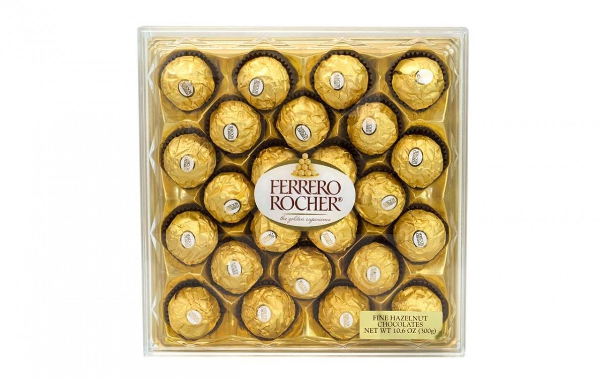 FERRERO ROCHER Fine Hazelnut Chocolates 10.6 Oz