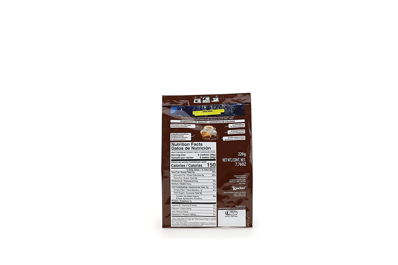 LOACKER Quadratini Espresso Wafer Cookies 7.76 Oz