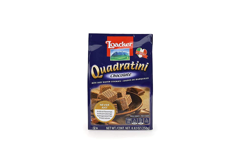 LOACKER Quadratini Wafer Cookies 8.82 Oz