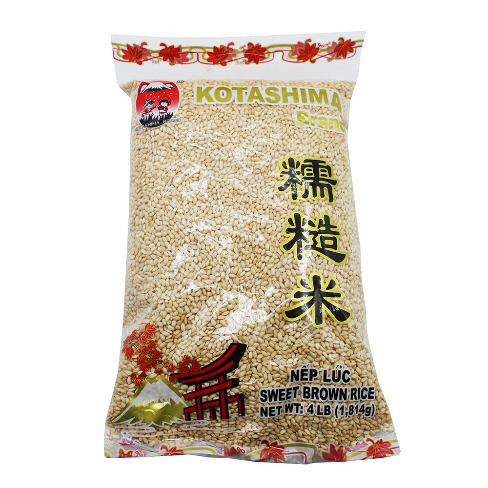 KOTASHIMA Sweet Brown Rice / Nep Luc 4 LB