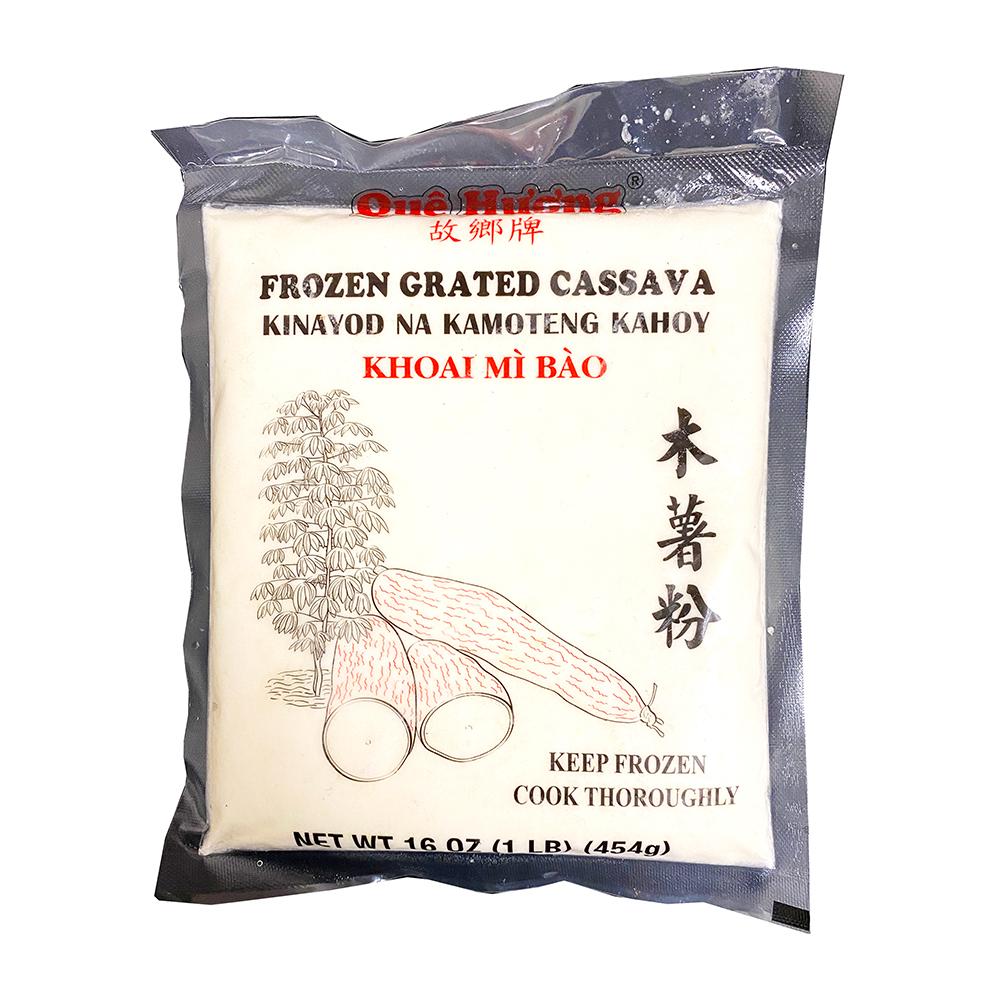 Que Huong Frz Grated Cassava 16 Oz