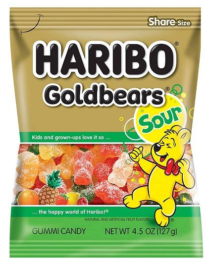 HARIBO Goldbears Gummi Candy 4.5 OZ
