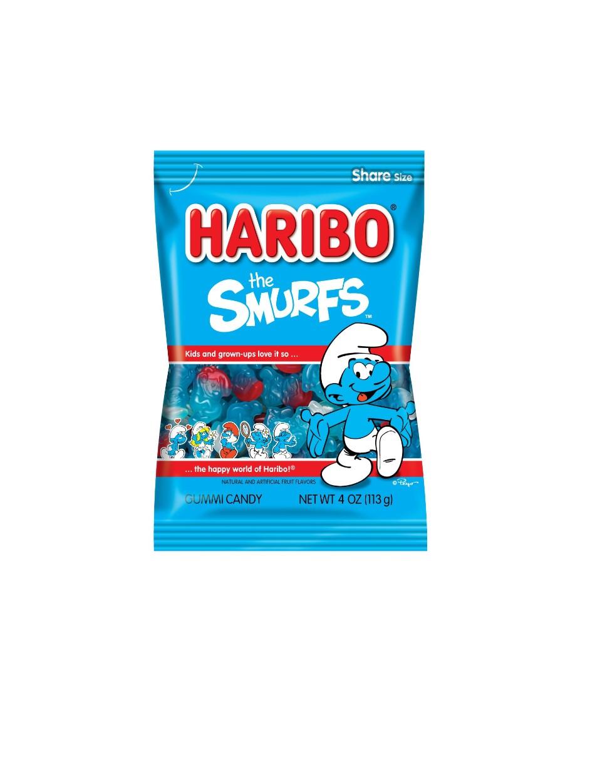 HARIBO The Smurfs Gummi Candy 5 OZ