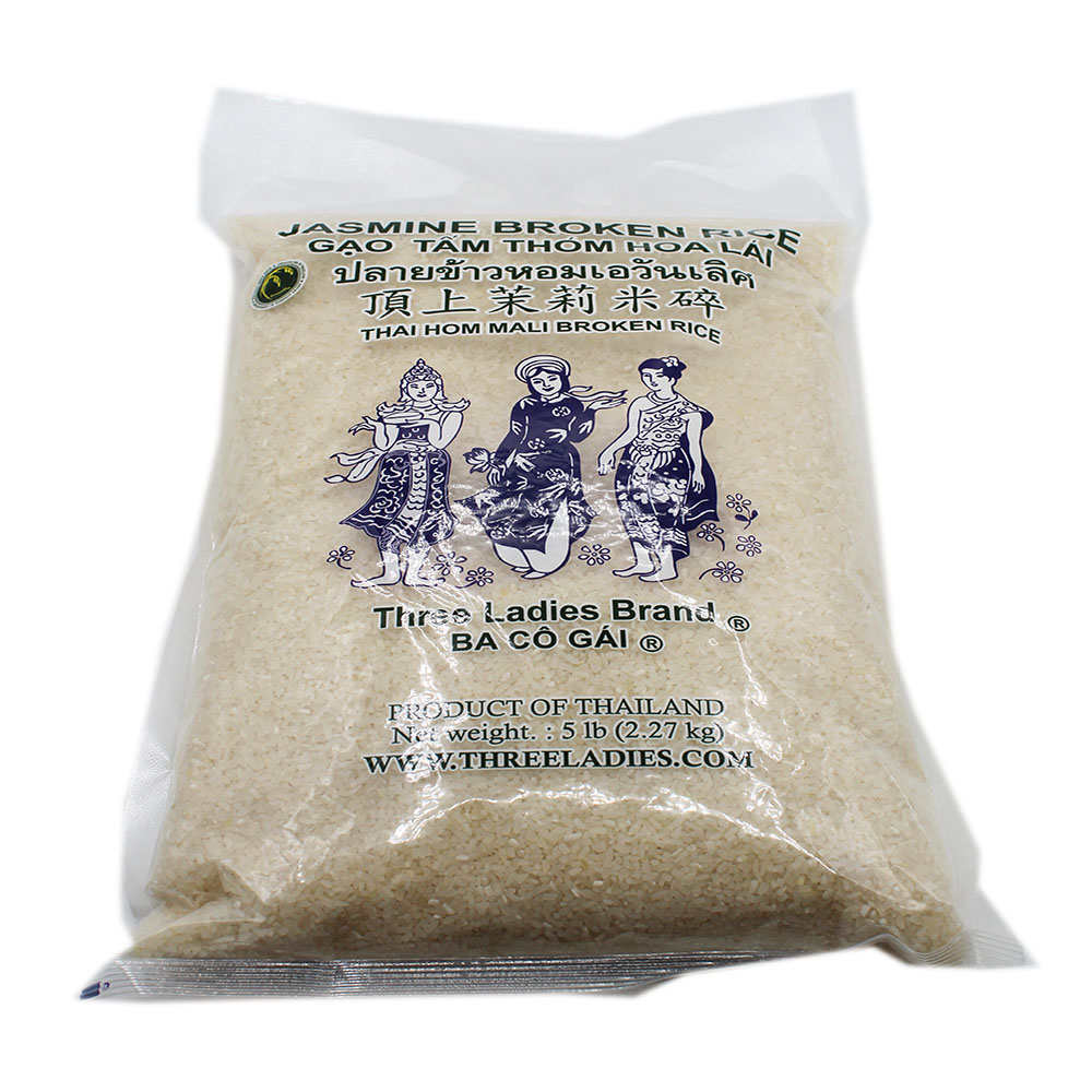 Three Ladies Broken Rice 5 Lb