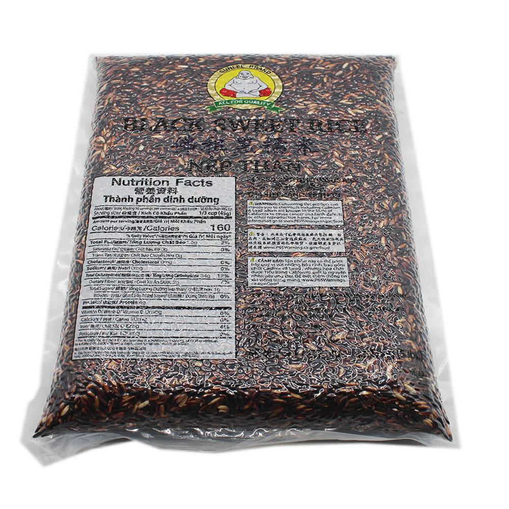 SUNLEE Black Sweet Rice 5 LB