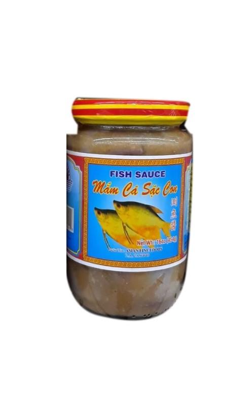 QUANG TRI FOOD Preserved Gouramy Fish Sauce / Mam Ca Sac Con 16 OZ