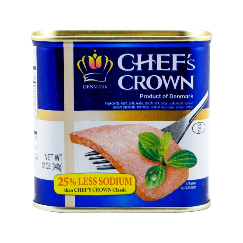 DENMARK Chef's Crown Luncheon Meat Fully Cooked 12 OZ