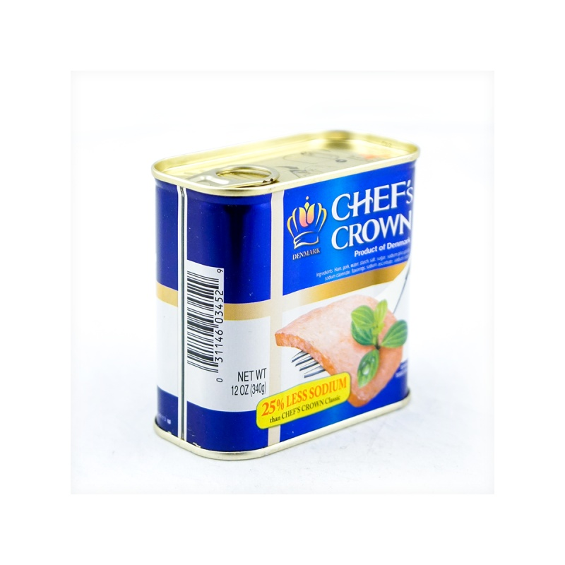 large denmark chefs crown luncheon meat fully cooked 12 oz jeppvu QUk