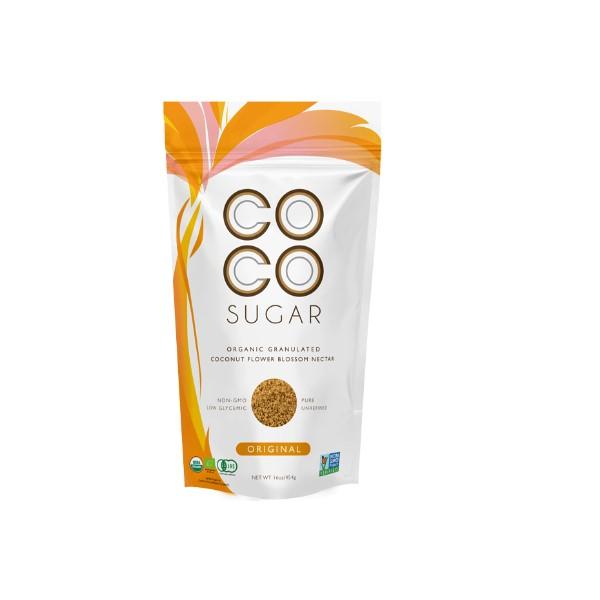 COCO SUGAR Organic Granulated Coconut Flower Blossom Nectar 16 OZ