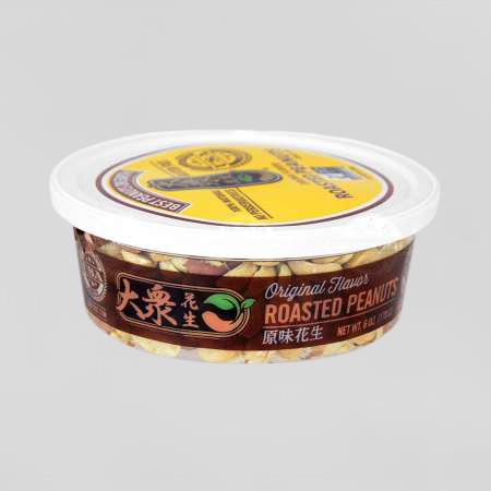 KH FOOD Original Flavor Roasted Peanuts 6 OZ
