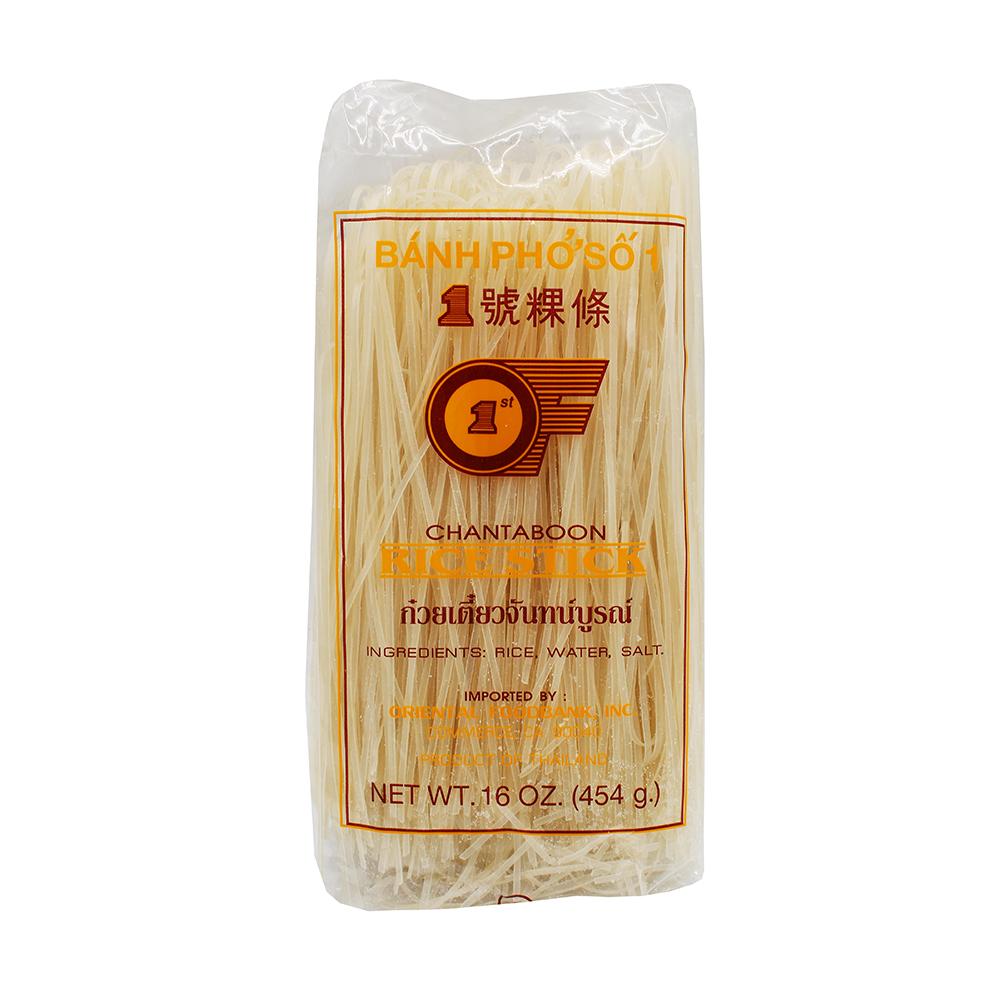 1St Of Chantaboon Rice Stick (S) 16 Oz