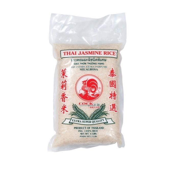 COCK Thai Jasmine Rice / Gao Thom Thuong Hang 5 LB