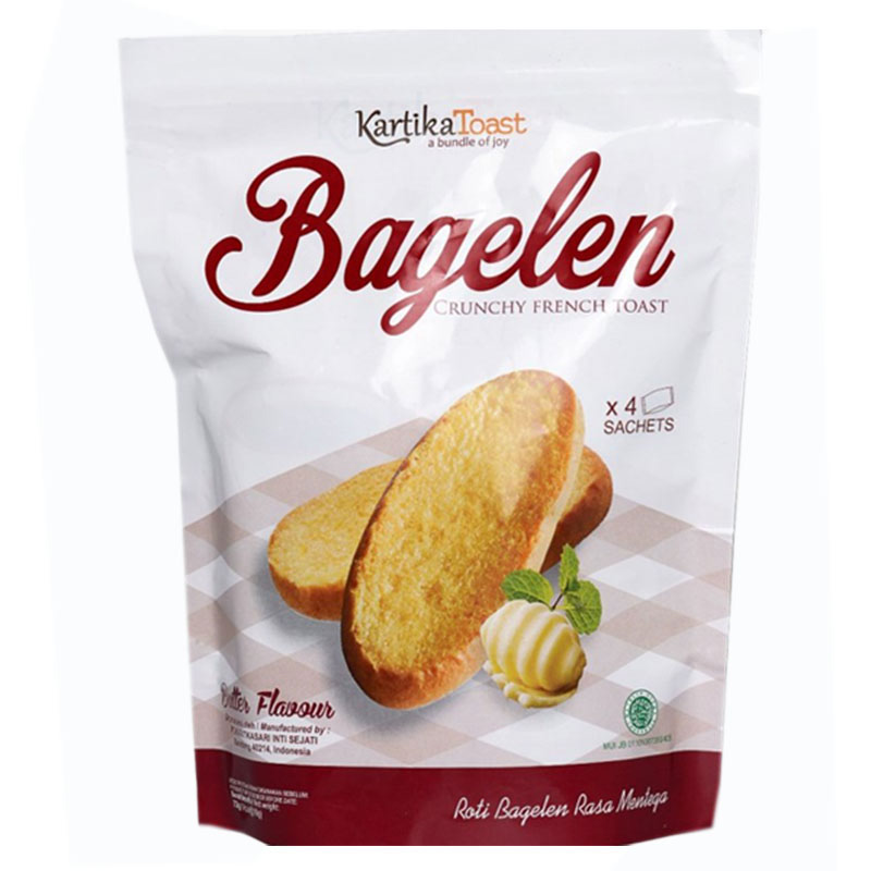 KARTIKA Toast Bagelen Toast Butter 2.54 Oz