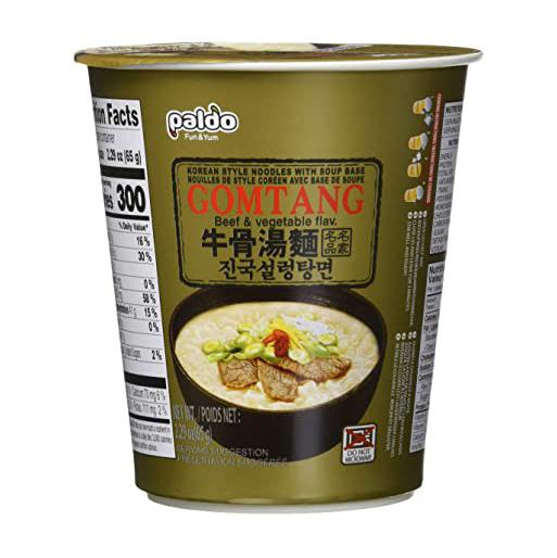 PALDO Korean style noodles beef & vegetable flavor 2.29 OZ