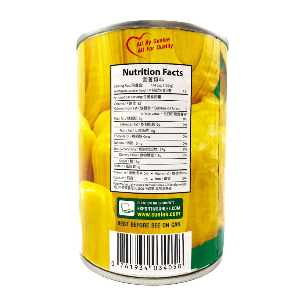 SUNLEE Jackfruit In Syrup 20 Oz
