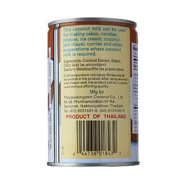 CHAOKOH Coconut Milk Gata 13.5 OZ