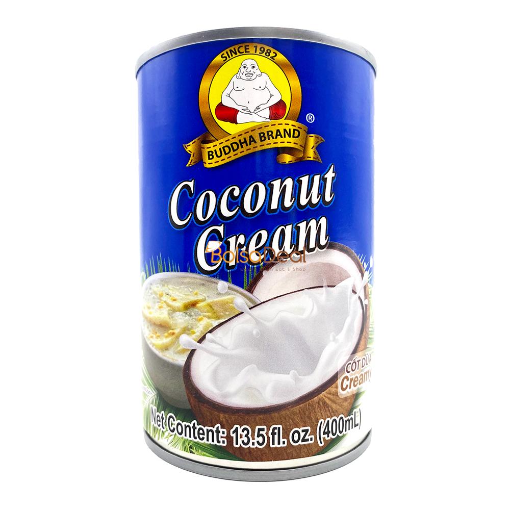 BUDDHA Coconut Cream / Cot Dua Creamy 13.5 FL OZ
