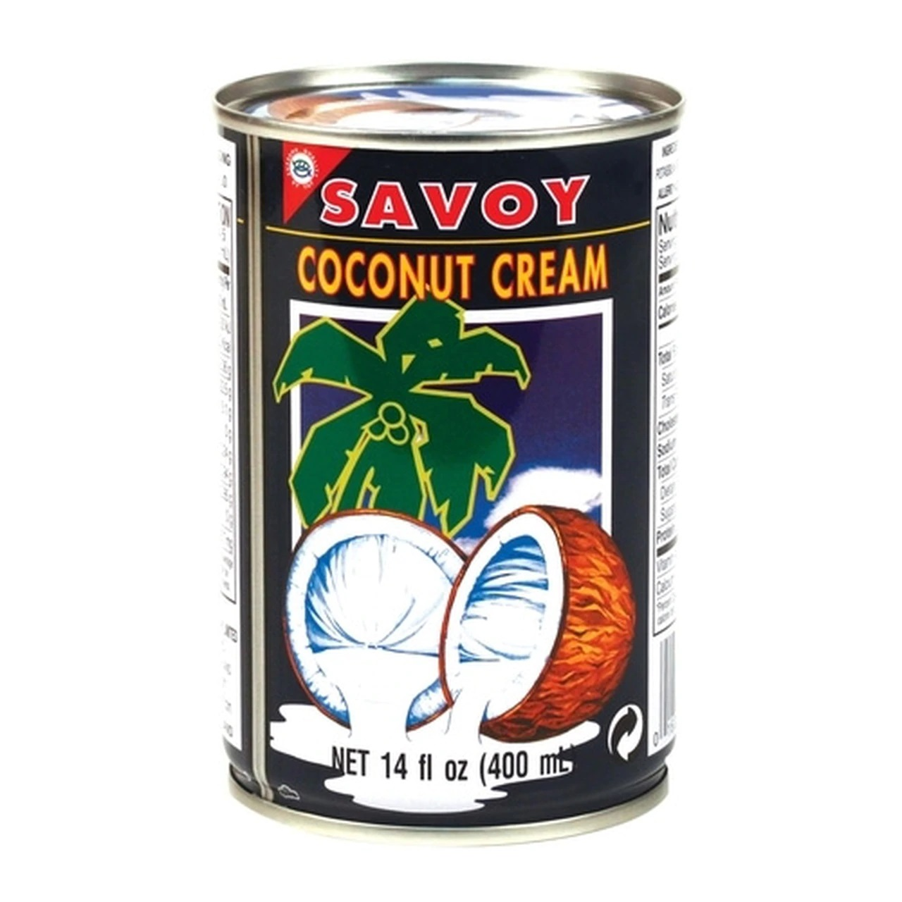 SAVOY Amazing Coconut Cream 14 OZ