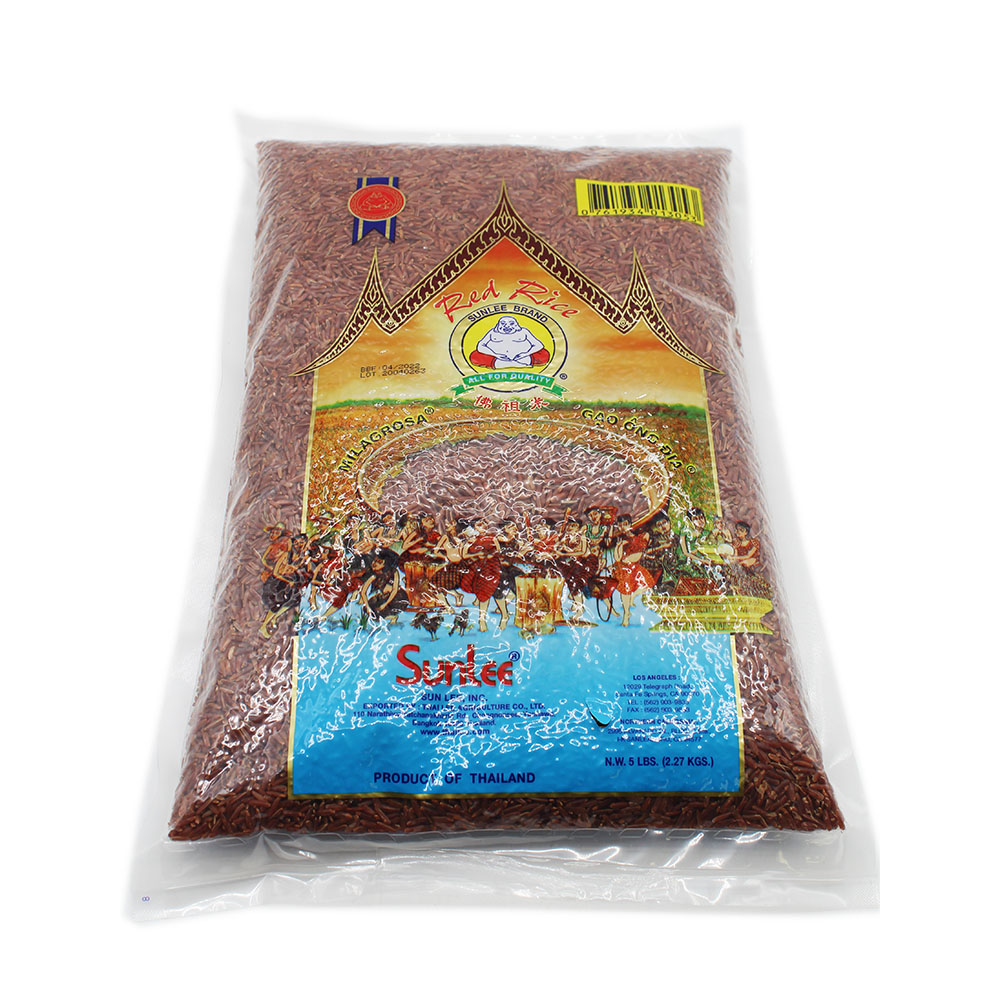 SUNLEE Red Rice / Gao Ong Dia 5 LB