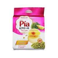 PHUC AN Pia Cake Mung Bean & Durian/ Banh Pia Dau xanh & Sau rieng 14 OZ