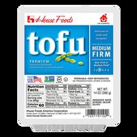 HOUSE Med Firm Regular Tofu 14 Oz [COLD]