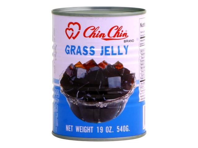 CHIN CHIN Black Grass Jelly 19 OZ