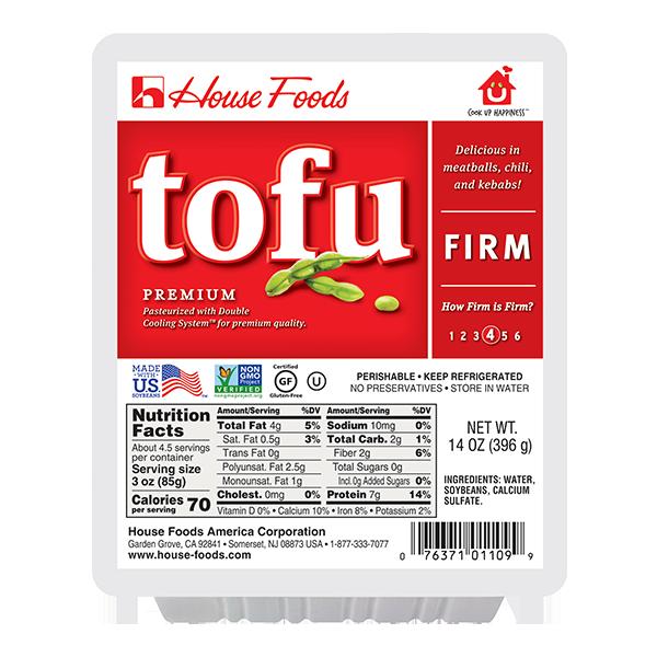 HOUSE FOODS Premium Firm Tofu 14 Oz [COLD]