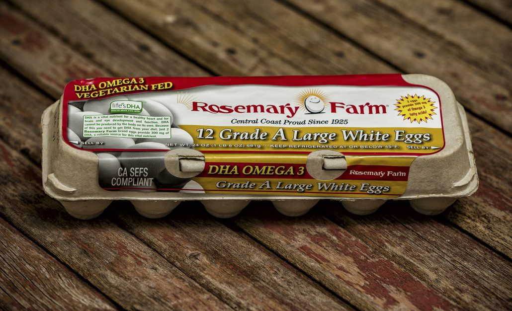ROSEMARY FARM  AA LG WHITE 12CT
