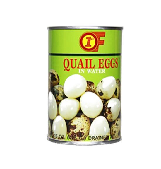 1ST OF Quail Eggs In Water 15 FL OZ