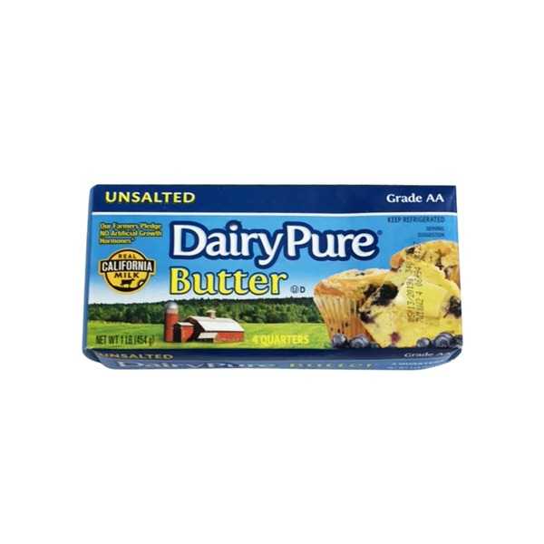 Dairy Pure Unsalted Butter 1Lb [COLD]