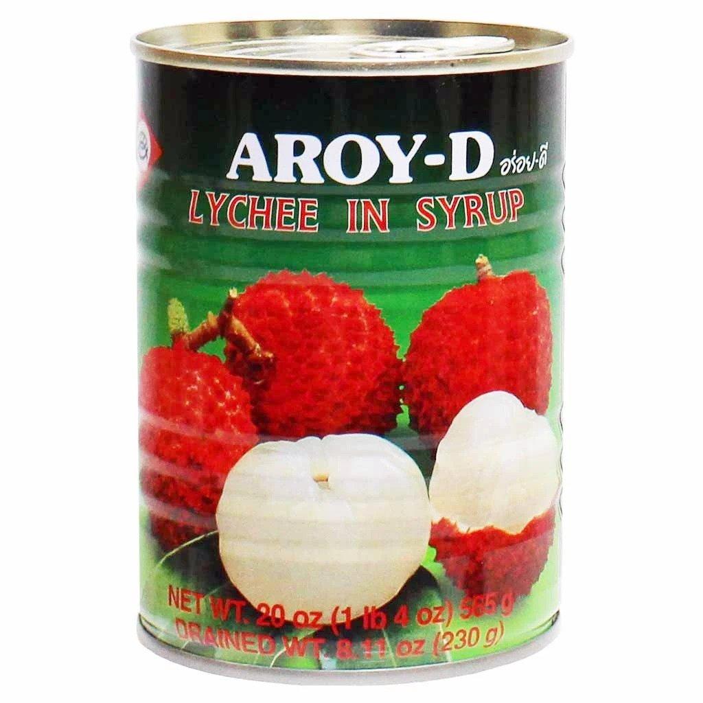 AROYD Lychee In Syrup 20 Oz