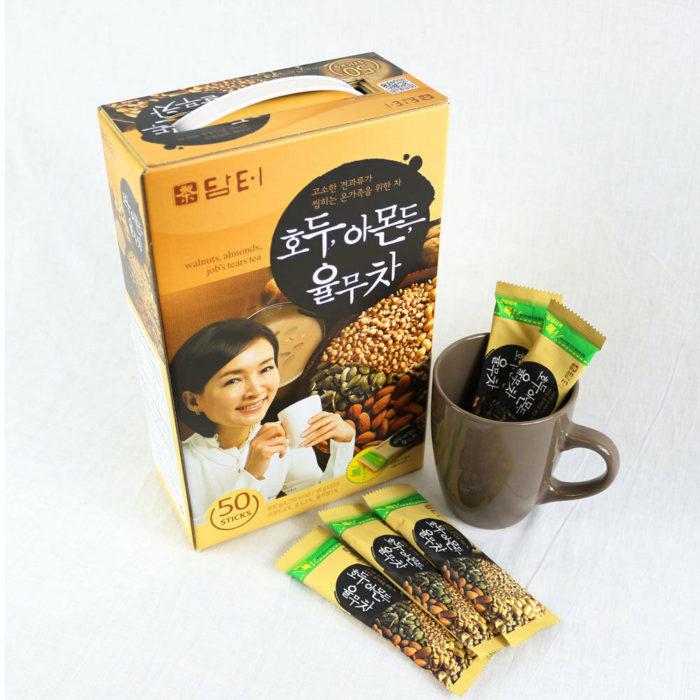 DAMTUH Walnut Almond & Adlay Tea  50 Packs