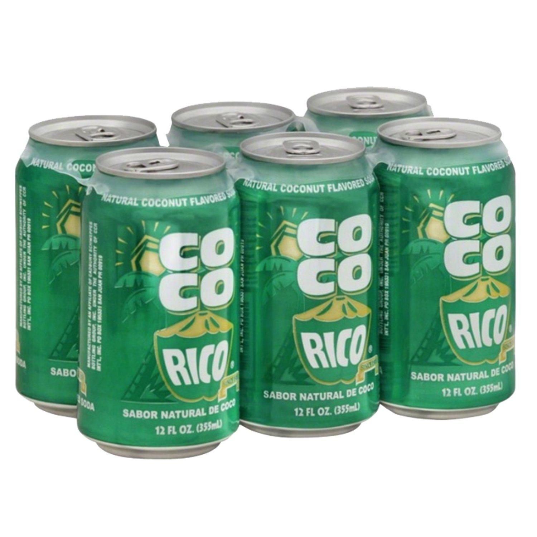COCO RICO Soda Have An Unforgettable Flavor 6pk