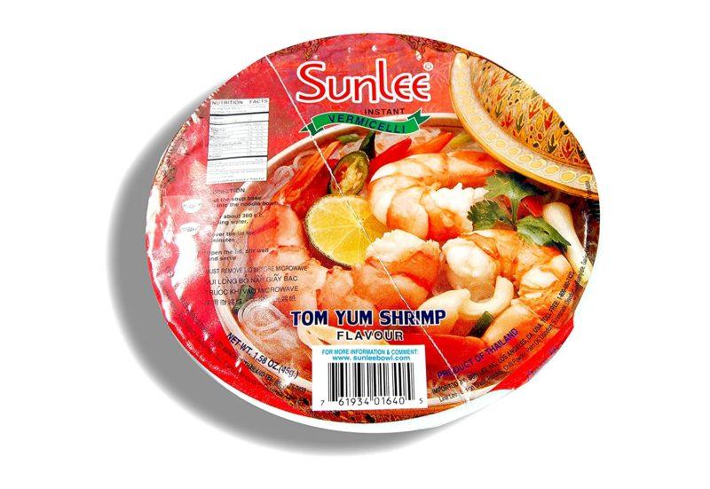 SUNLEE Instant Vermicelli Tom Yum Shrimp Flavor 45 G