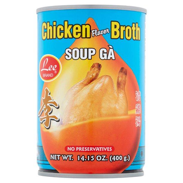 LEE BRAND Chicken Flv Both/ Soup Ga 14.15 OZ