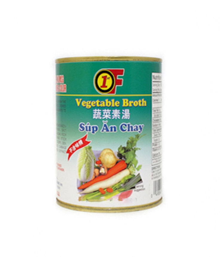 1ST OF Vegetable Broth 14 OZ