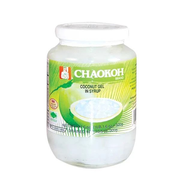 CHAOKOH Coconut Jelly Syrup 17.6 OZ