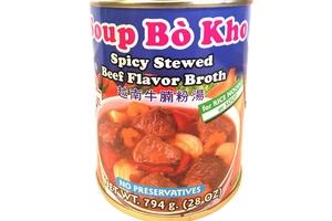 POR KWAN Spicy Stewed Beef Broth / Soup Bo Kho 28 OZ