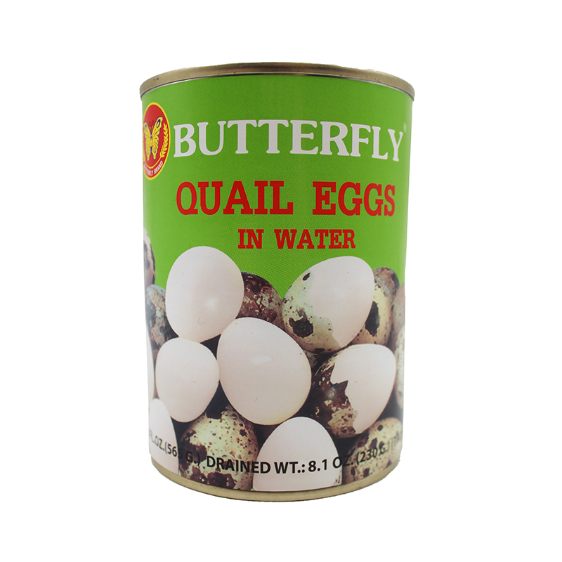 BUTTERFLY Quail Egg In Water 20 oz