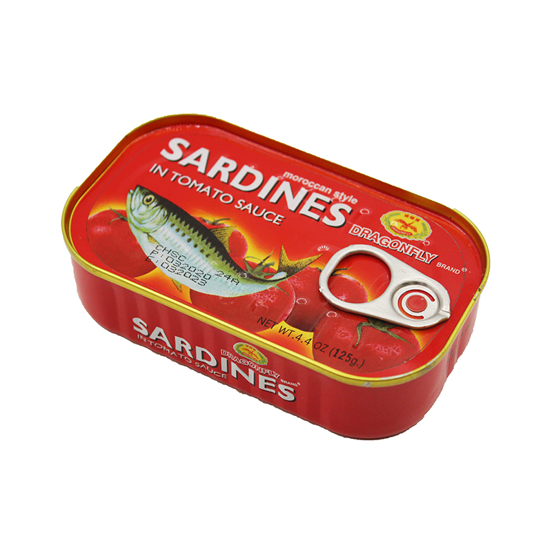 DRAGONFLY Sardines In Tomato Sauce 4.4 OZ