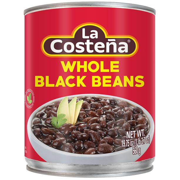 LA COSTENA Whole Black Beans 19.75 Oz