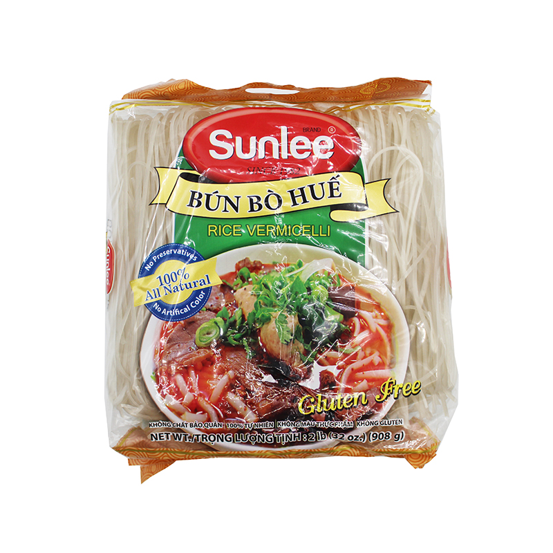 SUNLEE Rice Vermicelli / Bun Bo Hue 2 Lb
