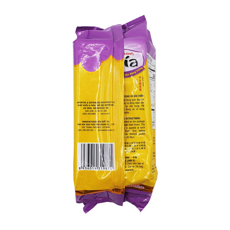 TAN HUE VIEN PIA CAKE Taro Durian Egg 14 OZ