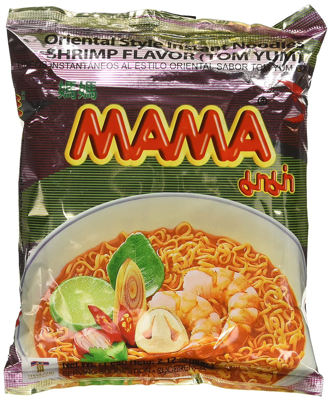 Mama Delicious Shrimp Tom Yum Instant Noodles 60 G