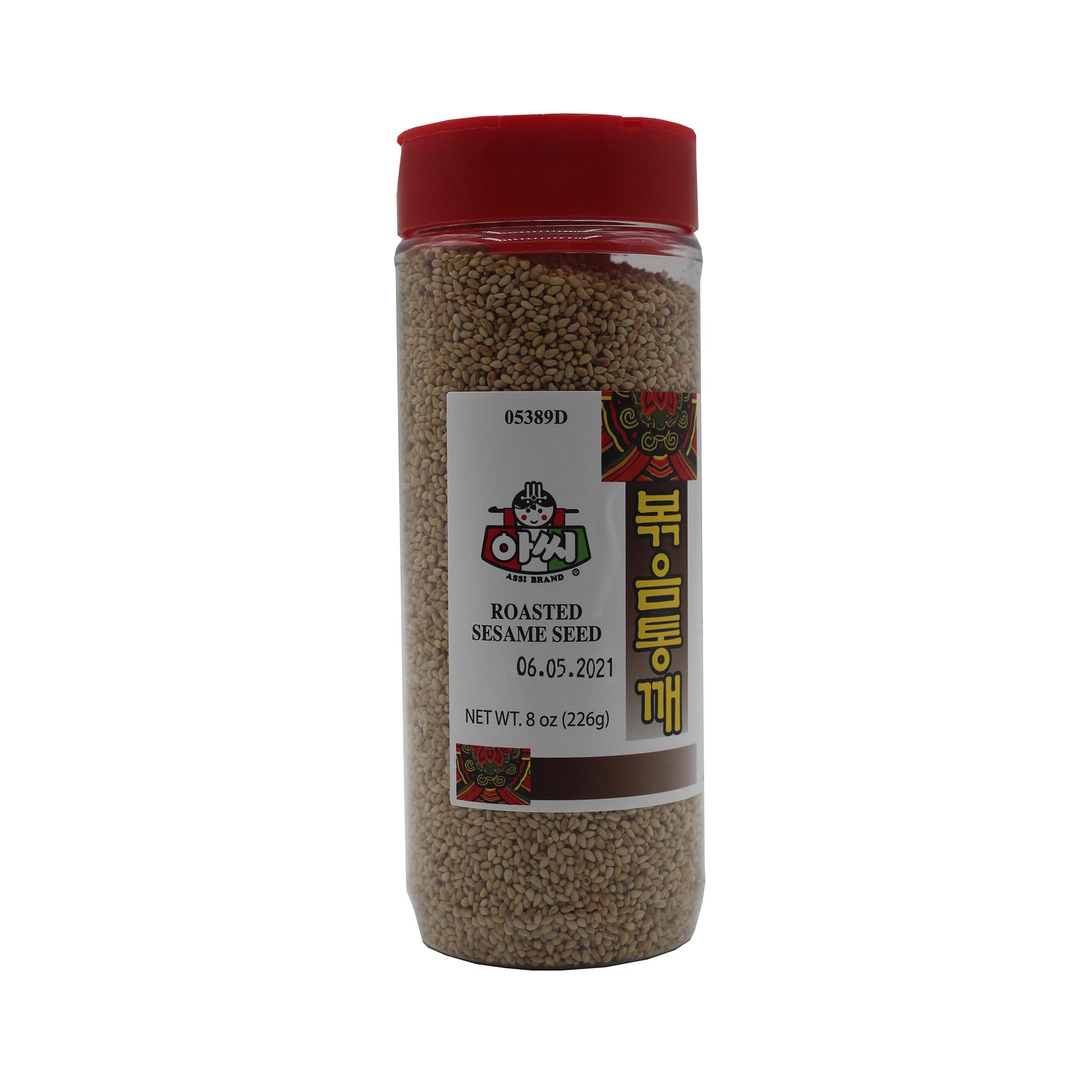 ASSI Roasted Sesame Seed 8 Oz
