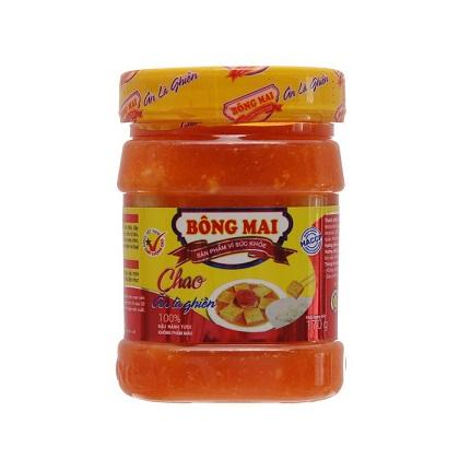 BONG MAI Preserved Bean Curd / Chao An La Ghien 370 Gr