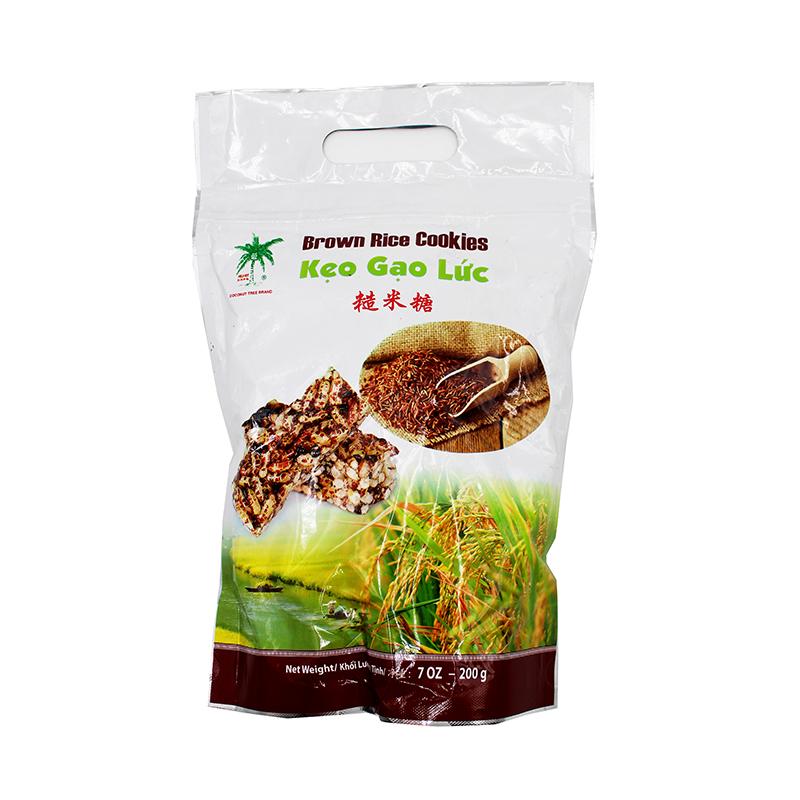 COCONUT TREE Brown Rice Cookies / Keo Gao Luc 7 Oz