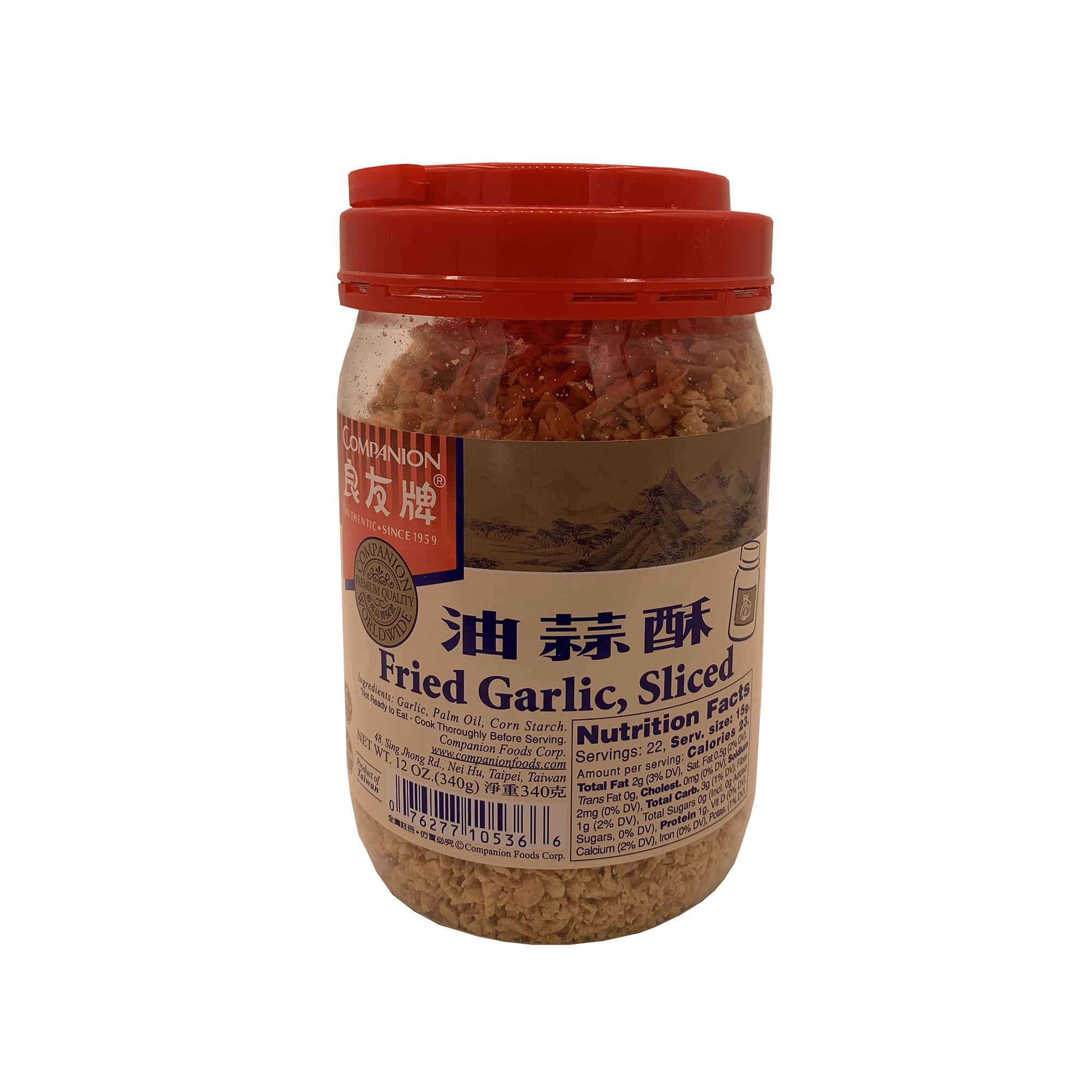 COMPANION Fried Garlic, Sliced 12 OZ