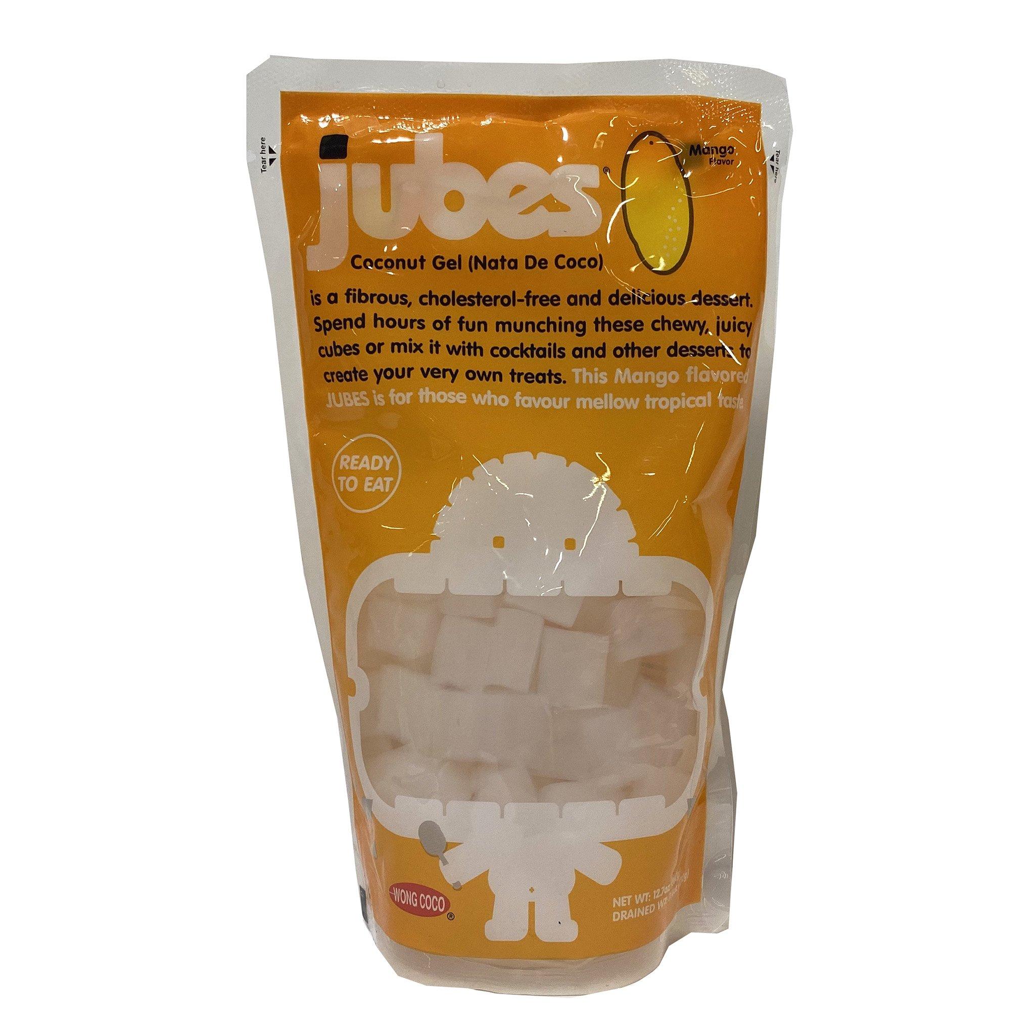 JUBES Coconut Gel Mango Flavor 12.7 OZ